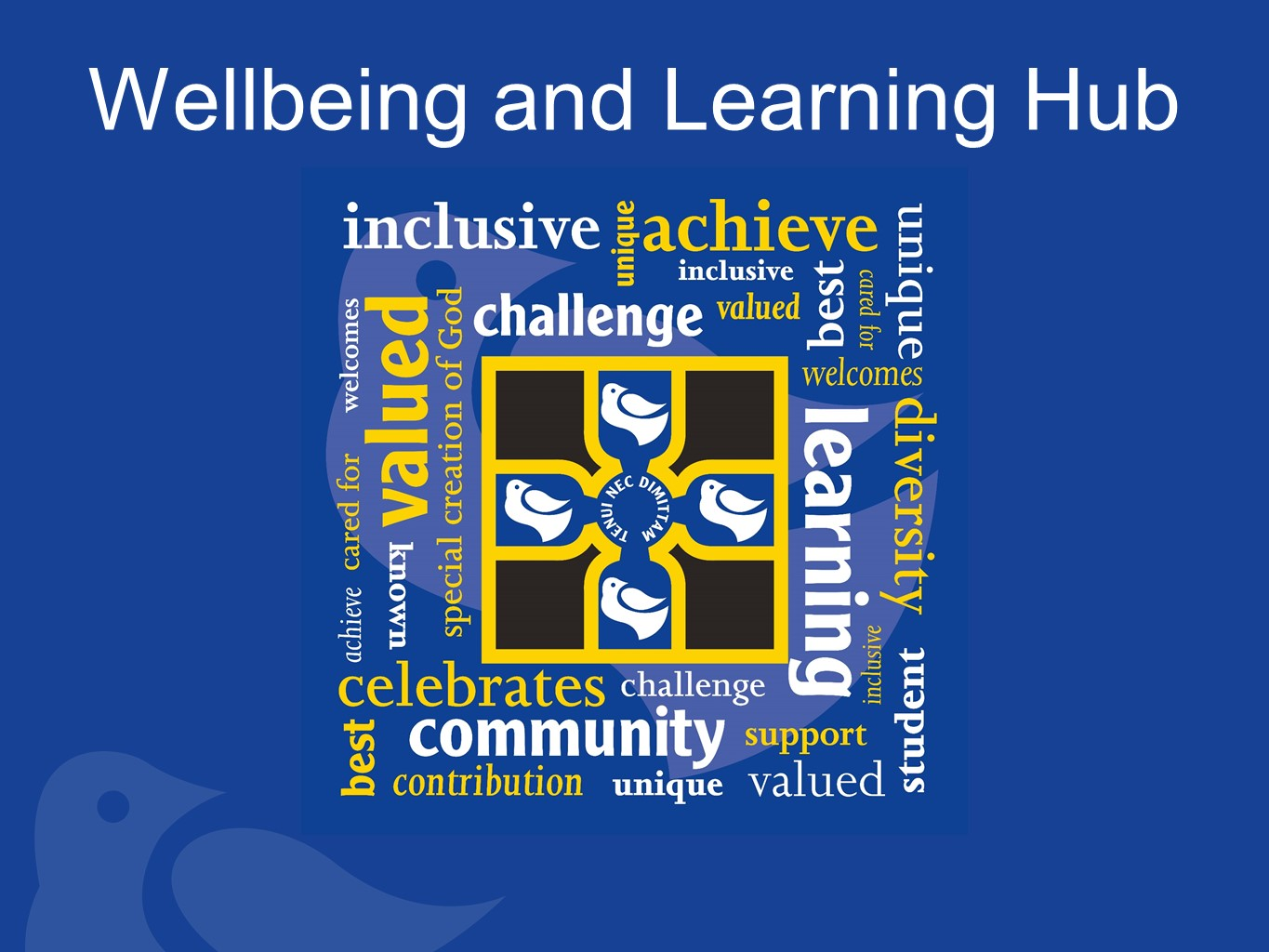 Wellbeing and Learning Hub